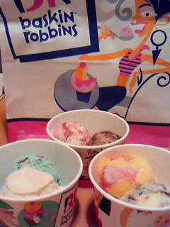 義援金付きアイスクリーム