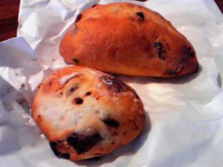 新宿西口「墨絵」のパン